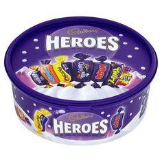 Authentic Cadbury Heroes Tub 695G British Food Chocolate Christmas Candy Free Shipping