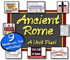 Ancient Rome Timeline - Free Printable Worksheet for World History, Grades 7-12 | Social Studies ...