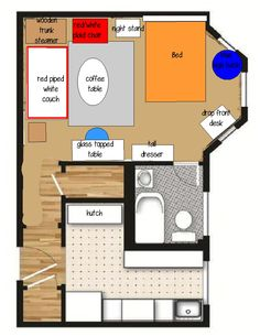 studio layout tiny apartments and layout on pinterest best studio apartment furniture