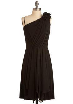 Hibiscus at the Hop Dress in Black. It always feels like summer in Hawaii! #black #wedding #modcloth