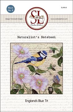 Happy New Years My Friends! <cue the confetti>  Are You Ready for Some Fabulousness? The Naturalist's Notebook: England's Blue Tit Pattern (#8) is now available on the site. I always feel there should be a blast of celebration horn music when everything is ready. The floss kits are... Continue reading »