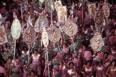 Carnival of Rio de Janeiro. 1980.