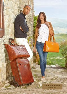 Leather Bags, Leather Handbags, Briefcase, Italian Leather, Bridge, Campaign, Wallet, Purses, Accessories