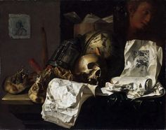 N. L. Peschier - Vanitas [1661]