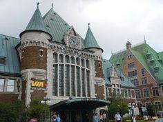 Gare du Palais UNESCO Québec #viajarcorrendo #québec #quebec #parlamento #tourny #chateau #frontenac #unesco