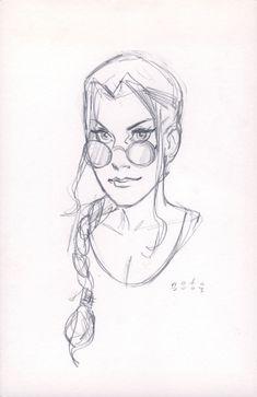 Lara Croft - Tomb Raider by Phil Noto *