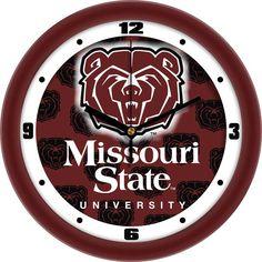 Mens Missouri State Bears - Dimension Wall Clock