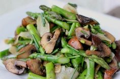 Marinated Mushrooms & Asparagus Salad | Andover Diet Center | Weight Loss