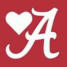 With Great Love To Our Crimson Tide