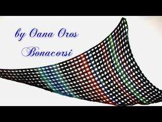 ▶ sciarpa wing all'uncinetto - YouTube