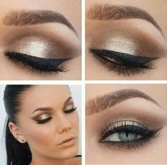 Sophisticated make-up. For more beauty and fashion check http://www.pinterest.com/perfectcircle/beauty-lifestyle-fashion-3/