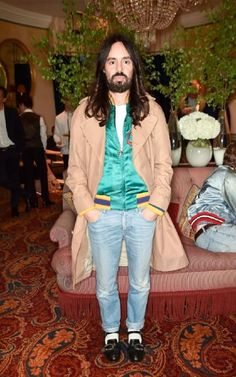 Alessandro Michele dreamt streamlined