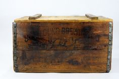 Vintage Beer Crate XXL / John Gund Brewing Company by HuntandFound, $165.00