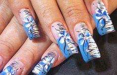 Ver diseños de uñas de manos, ver diseños de uñas. Clic Follow, Únete al CLUB, síguenos! #uñas #nails #uñasdiscretas