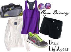 """Run: Buzz Lightyear"" by disneydiva305 ❤ liked on Polyvore"