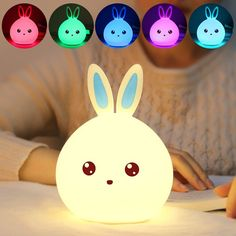 SHARE & Get it FREE | Cartoon Rabbit LED Touch Colorful Table Night LightFor Fashion Lovers only:80,000+ Items • New Arrivals Daily • Affordable Casual to Chic for Every Occasion Join Sammydress: Get YOUR $50 NOW!