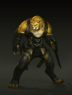 ArtStation - Big Cat Rogue, Qiu Fang