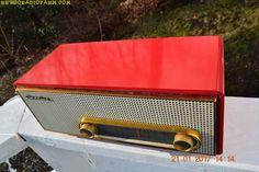 Mid century Modern PYE Garrard stereo radio turntable