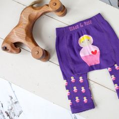 Adorable and warm doll leggings