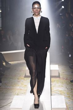 """LOVE this sheer bottom"" Undercover RTW Fall 2015 