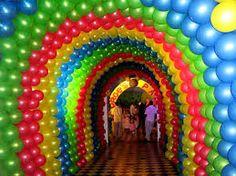 Resultado de imagen de decoracion con globos