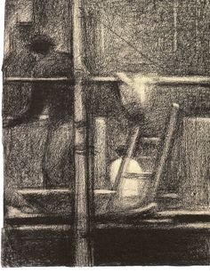 Georges Seurat, unknown on ArtStack #georges-seurat #art