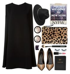"""Empire State of Mind"" by karineminzonwilson ❤ liked on Polyvore featuring Polaroid, Clare V., McQ by Alexander McQueen, Miu Miu, BeckSöndergaard, Yves Saint Laurent, FOSSIL, MAC Cosmetics, Maison Margiela and NYFW"