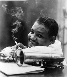 American Manhood in Black & White Julian Edwin ( Cannonball Adderley) Jazz alto Saxiphonist of the Hard pop era of 1950s and 1960s