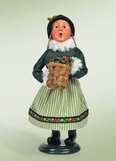 """""""Woodland Girl"""" a member of Santa Designs."""