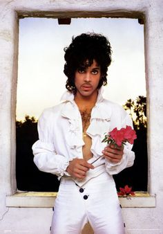 Seriously who didn't want hair and a waist as small as Prince.  I wanted to be Prince and the Revolution.  LOL.