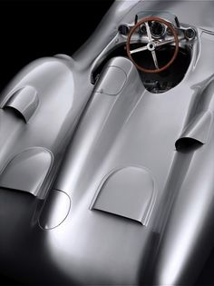 Mercedes-Benz W 196 'Silberpfeil', 1955. - rear