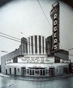Will Rogers Theater at 5641 W. Belmont Avenue, opened in 1936, demolished in 1987 (Chicago Pin of the Day, 4/28/2017).