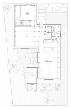 Forstberg Arkitektur Living Room Sweden | Remodelista Place Vendôme, Timber Structure, Small Buildings, Ground Floor Plan, Architecture Plan, Modern Residential Architecture, Minimal Architecture, Small House Plans, Types Of Houses