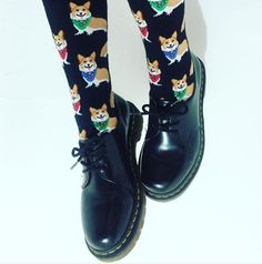 Docs and Socks: the Vintage 1461 shoe, shared by tacosbeforebatos.