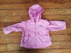 London Fog 12 months purple butterfly jacket