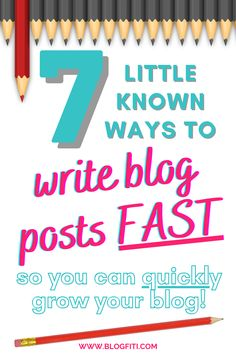 Click for the best blog writing tips to write blog posts quickly (that don't suck)! It's not only important to write and publish blog posts quickly, but to write ones that don't suck. Ones that add value to your reader's lives and solve their problems. Be sure to read this post and save for later because I want you to be able to publish like a boss!                 #blogfiti | blog writing tips | writing blog tips | blog writing for beginners | blog tips | blogging tips Blog Writing Tips, Blog Tips, Writing Prompts, Self Publishing, Blogging For Beginners, Business Ideas, How To Start A Blog, Boss, Social Media