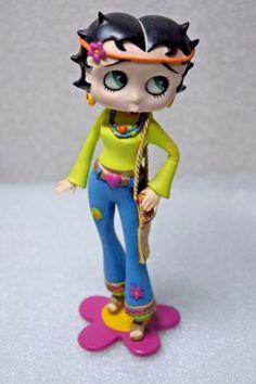 Breast Cancer Awareness BCA I Make Hope Look Good Betty Boop Figurine