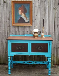 Number Fifty-Three: Vintage Two-Toned Sideboard