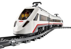 LEGO City High-Speed Passenger Train -- this is a fun LEGO train for an older child. Lego City Train, Lego Trains, Model Building, Building Toys, Wish Gifts, Christmas Gifts For Boys, Train Service, Child Models, Model Trains