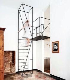 La escalera como escultura, de Francesco Librizzi Studio