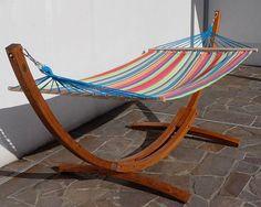 luxuriously comfortable hammock