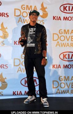 lecrae | Lecrae attends 43rd Annual GMA Dove Awards Pre-Show at The Fox Theatre ...