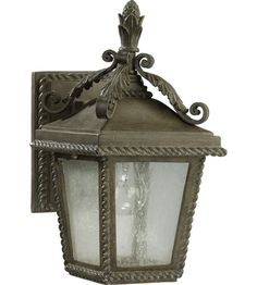 Quorum 7910-1-43 Rochelle 1 Light 15 inch Etruscan Sienna Outdoor Wall Lantern photo