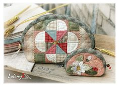 Gallery.ru / purse and cosmetics bag - Japanese patchwork 2 - lolenya