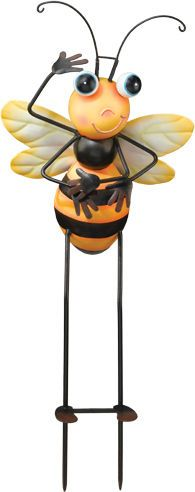 Bee Garden Stake - GARDEN ART
