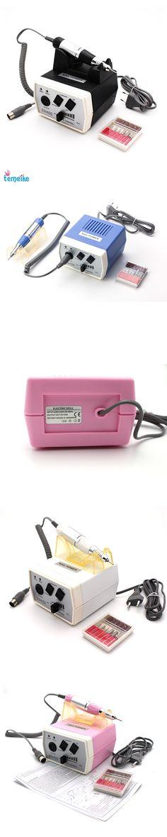 35W EN400 Pro Electric Nail Drill Machine Nail Art Equipment Manicure Pedicure Files Electric Manicure Drill & Accessory