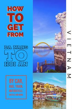 Hoi An old town is an amazing attraction. Hoi An has no airport, Da Nang is the nearest city with an international airport. We have all the options for you to get to Hoi An.  Vietnam | Grab travel | travel to Hoi An | travel to Da Nang | Da Nang airport | travel in Vietnam | Hoi An attractions | Things to do in Da Nang |  #travel #asia #Vietnam #unesco #hoian