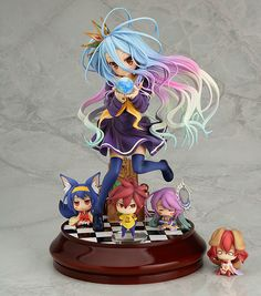 A rerelease of the Shiro figure that brings out the No Game no Life universe!From the anime series 'No Game No Life' comes a rerelease of the 1/7th scale figure of the younger of the 'Kuuhaku' gamer siblings, Shiro! The creative touch and colors of the original illustration that the figure is based on have been faithfully preserved with careful sculptwork and painting.Her special b... #tokyootakumode #figure #No_Game_No_Life #Shiro