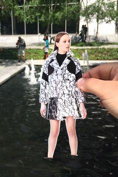 Sleek Seaside Fashion Campaigns : Emporio Armani Fall/Winter 2014/2015