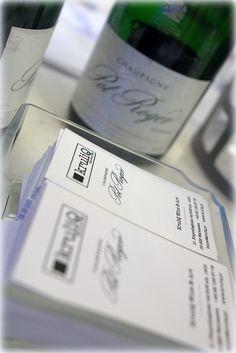 KruliQ Wine and Art - the Brand Ambassador of Pol Roger Champagne